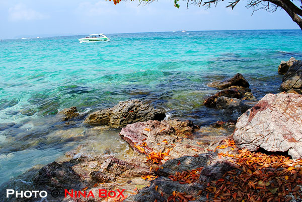 sea water at ta yi beach