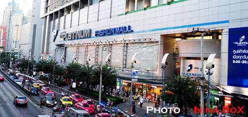 platinum fashion mall in bangkok
