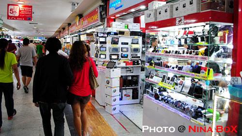 shopping around in bangkok
