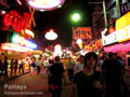 Pattaya Walking Street atmosphere