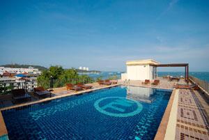 pattaya hotel with swiming pool