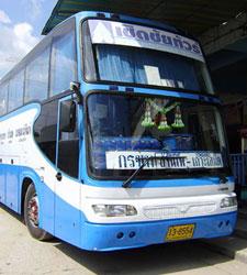 Bangkok-Banphe Rayong Bus